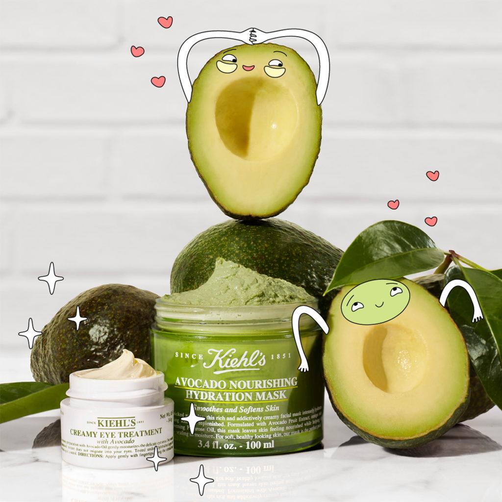 Kiehl's predstavlja masku od avokada koja hrani dehidriranu kožu