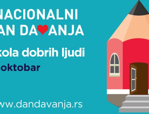 Osnovne škole i osnovci biće korisnici donacije drugog po redu Nacionalnog dana davanja