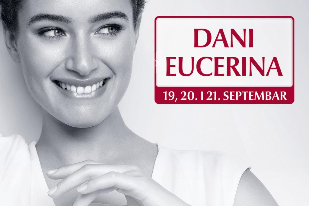 Dani Eucerina - tri dana posebnih pogodnosti kupovine u septembru