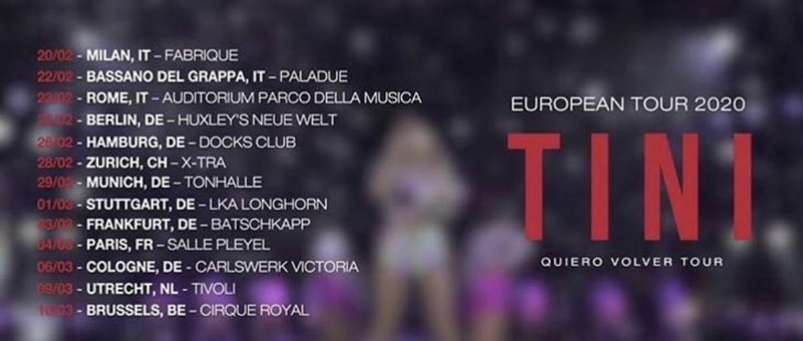 Tini objavila datume za turneju u Evropi, karte u prodaji od sutra!