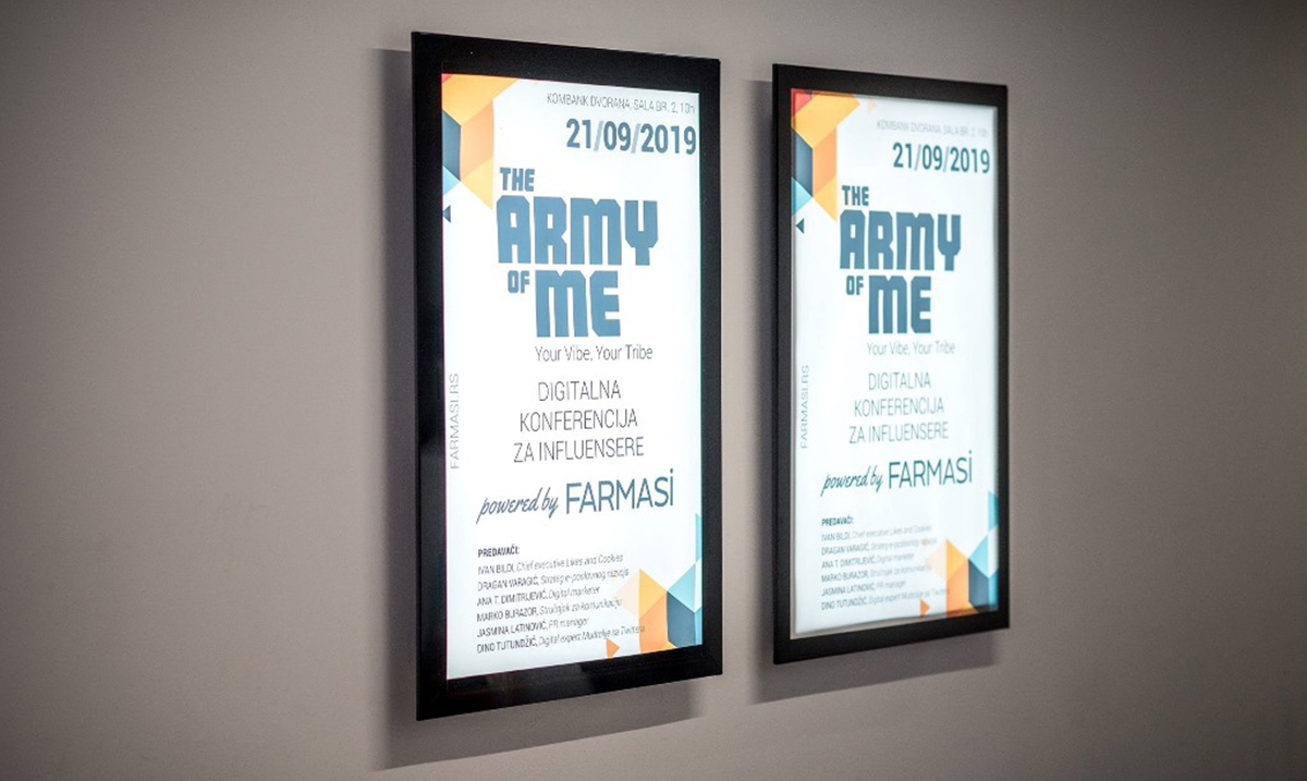 "Održana digitalna konferencija za influensere ""The Army Of Me"" powered by Farmasi"
