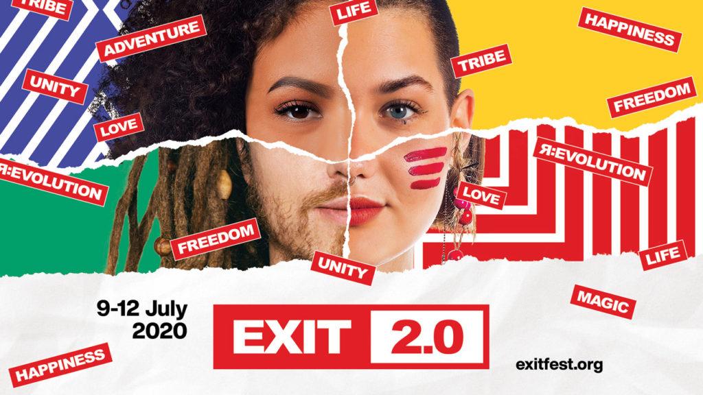 EXIT 2.0 počinje novu eru uz veliku proslavu 20. rođendana od 9. do 12. jula!