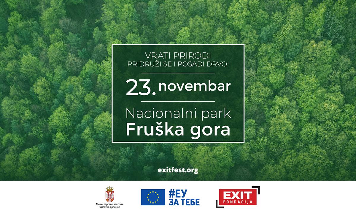 EXIT fondacija pokreće Zelenu Я:Evoluciju
