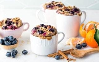 Doručak u šolji - muffine od borovnica