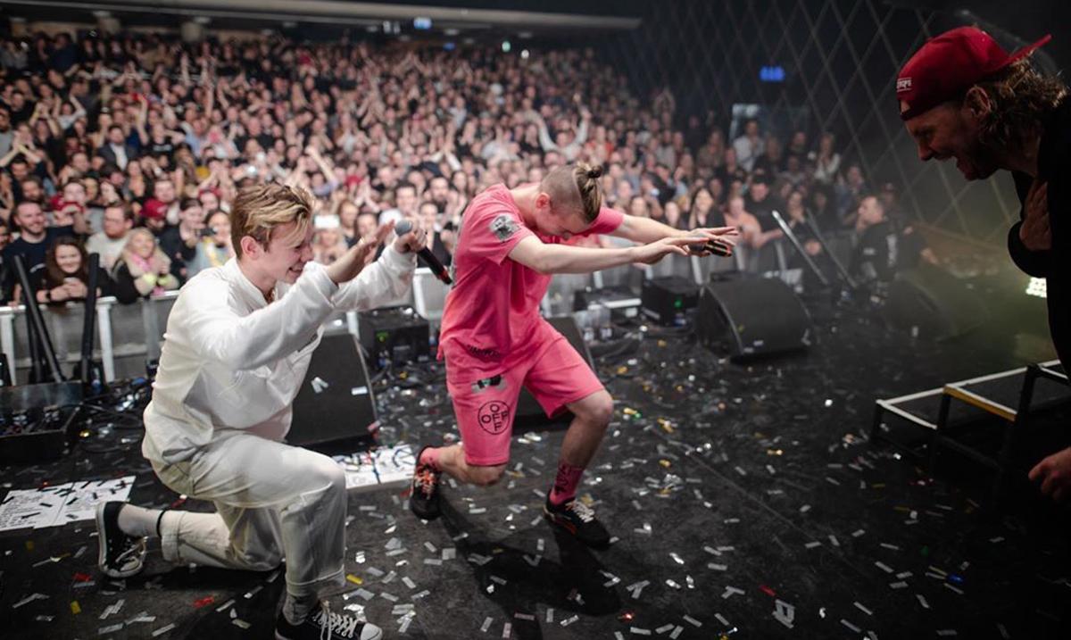 Norveška zvezda Petter Bjørklunda Kristiansen održao zadnji koncert, Marcus i Martinus mu see pridružili na bini