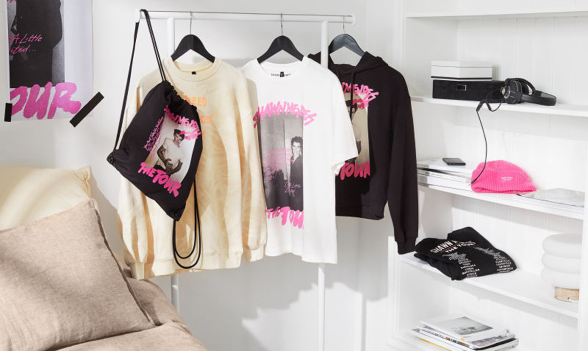 Kolekcija Shawn Mendes: The Tour x H&M stigla i kod nas