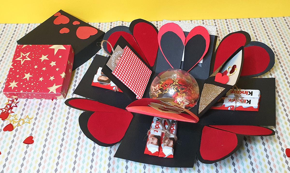 Maja BeCreative vam otkriva kako napraviti DIY love explosion box