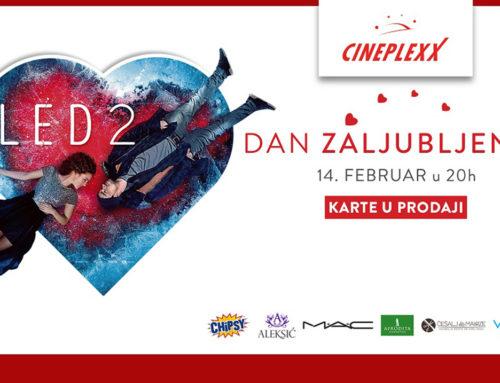 Slavimo ljubav uz nastavak ledene bajke u Cineplexx bioskopima