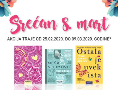 Damama s ljubavlju: knjigaVulkan izdavaštva iGolden Rosekozmetika