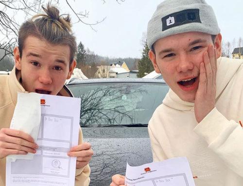 Marcus i Martinus na 18. rođendan dobili vozačke dozvole!