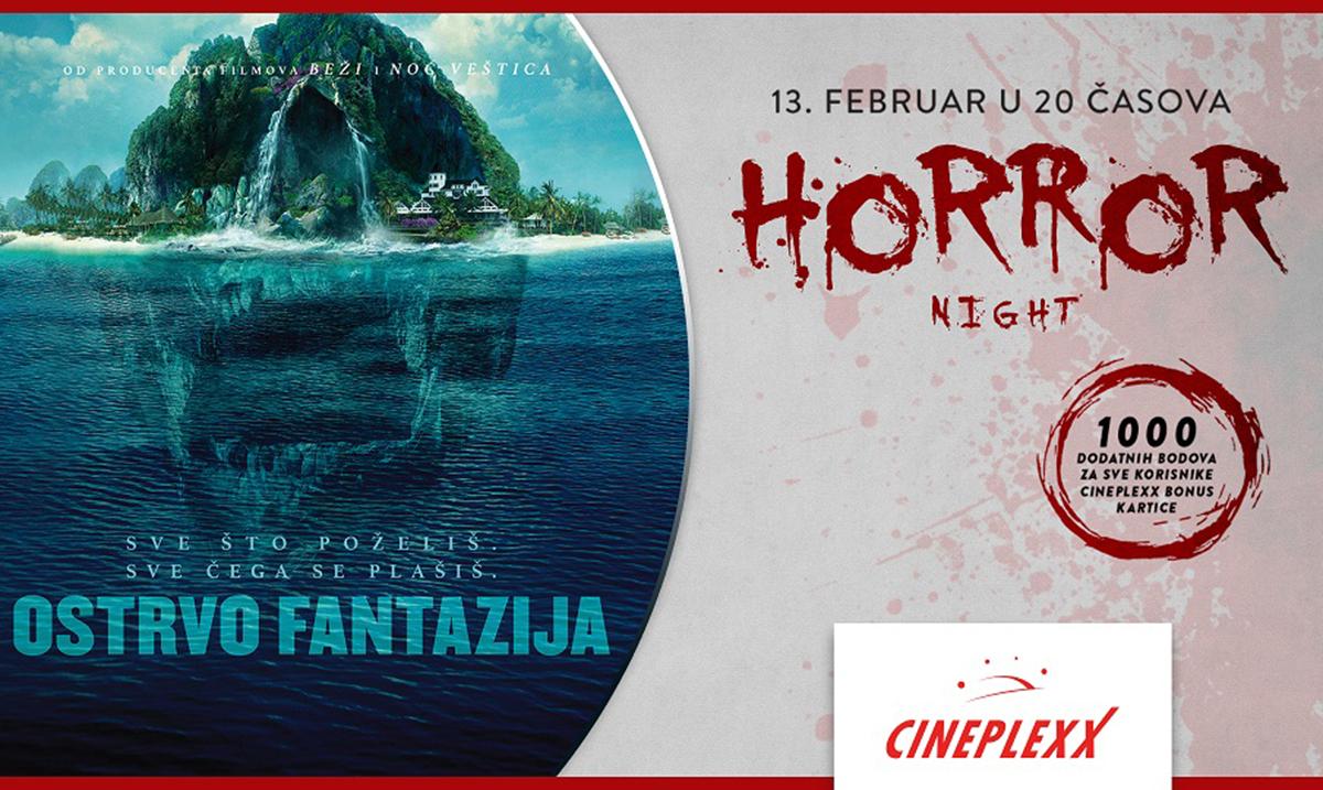 """Horror night na """"Ostrvu fantazija"""" u Cineplexx bioskopima"""