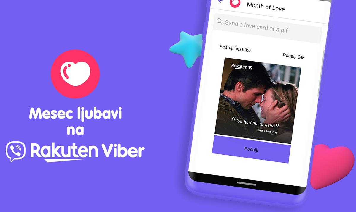 "Reci ""volim te"" na Viberu tokom trajanja meseca u znaku Kupidona"