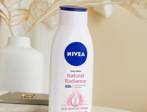 Uz NIVEA Natural Radiance losion tvoja koža će zablistati