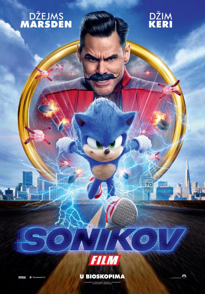 """""""Sonikov film"""" od četvrtka 13. februara u svim bioskopima"""