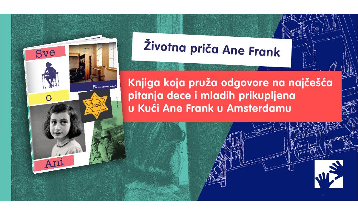 """SVE O ANI FRANK - Novo izdanje """"Kreativnog centra"""""""