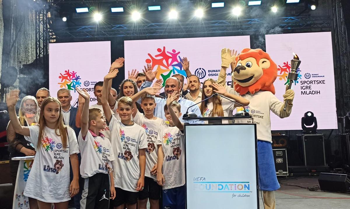 U Priboju svečano otvorene Dunav osiguranje Sportske igre mladih