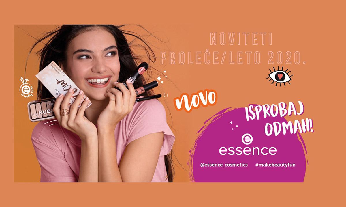 Zablistaje ovoga leta uz essence make-up proizvode