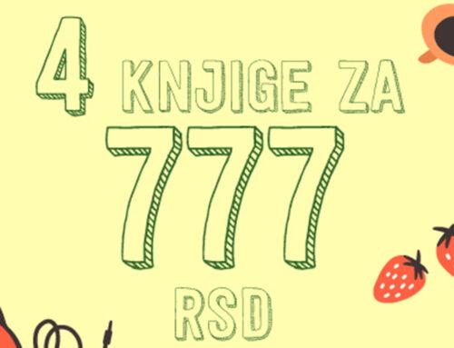 Sjajne akcije se nastavljaju – 4 knjige za 777 dinara!