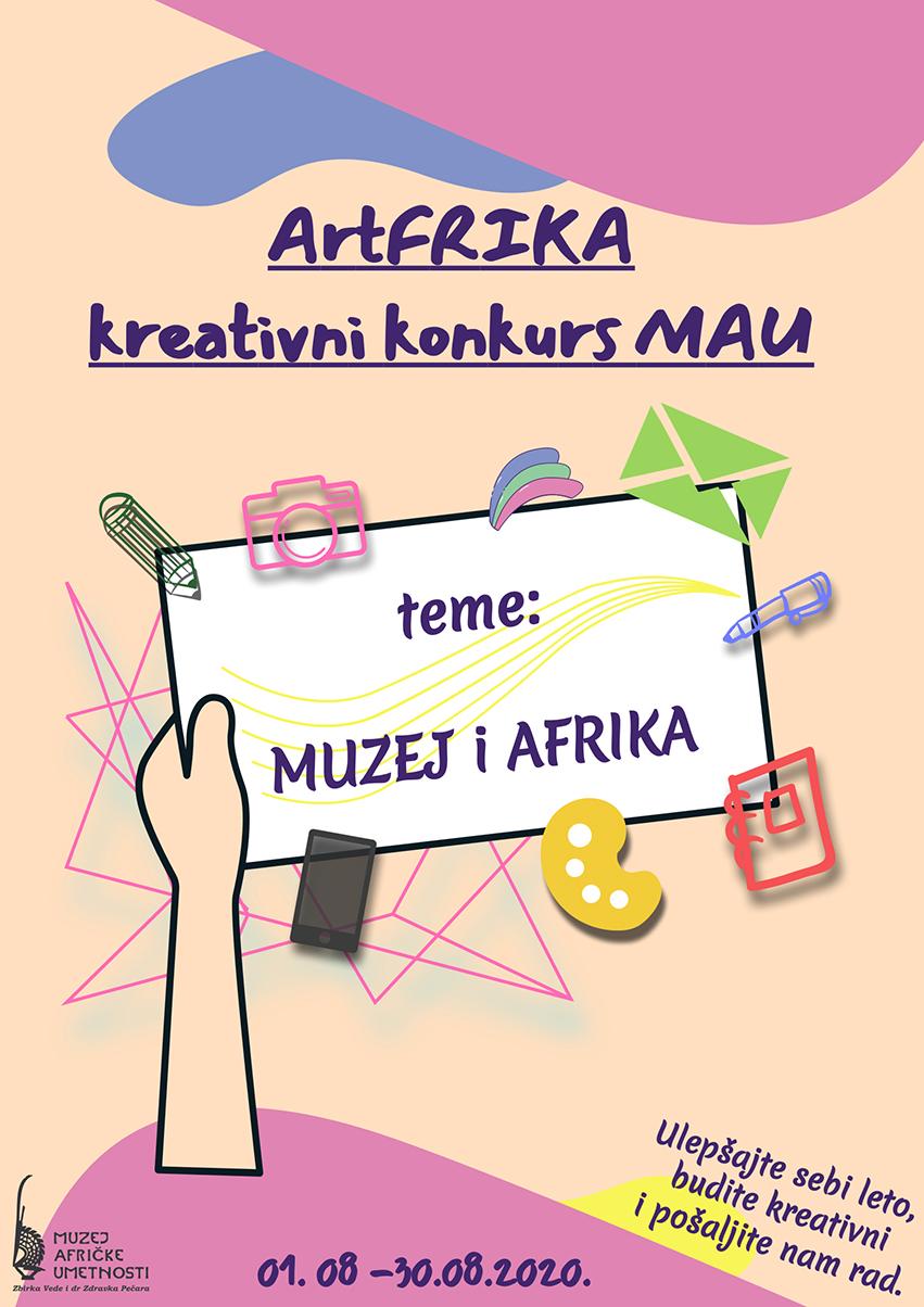Muzej afričke umetnosti poziva đake u Srbiji da učestvuju u kreativnom konkursu ArtFRIKA