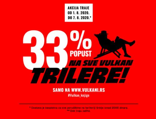 Najbolji trileri Vulkan izdavaštva po neverovatnim cenama!