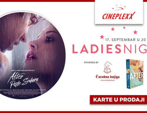 "Ladies night uz dugoočekivani nastavak filma ,,After"" u Cineplexx bioskopima"