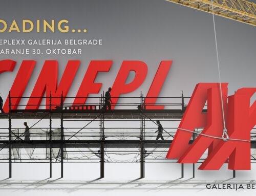 Cineplexx Galerija Belgrade – nova dimenzija filmskog iskustva