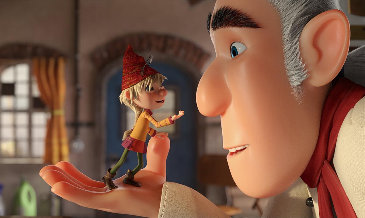 """Anđela Jovanović kao glavna junakinja Elfi u sinhronizovanoj animaciji """"Kućni patuljci: Operacija kolačići"""""""