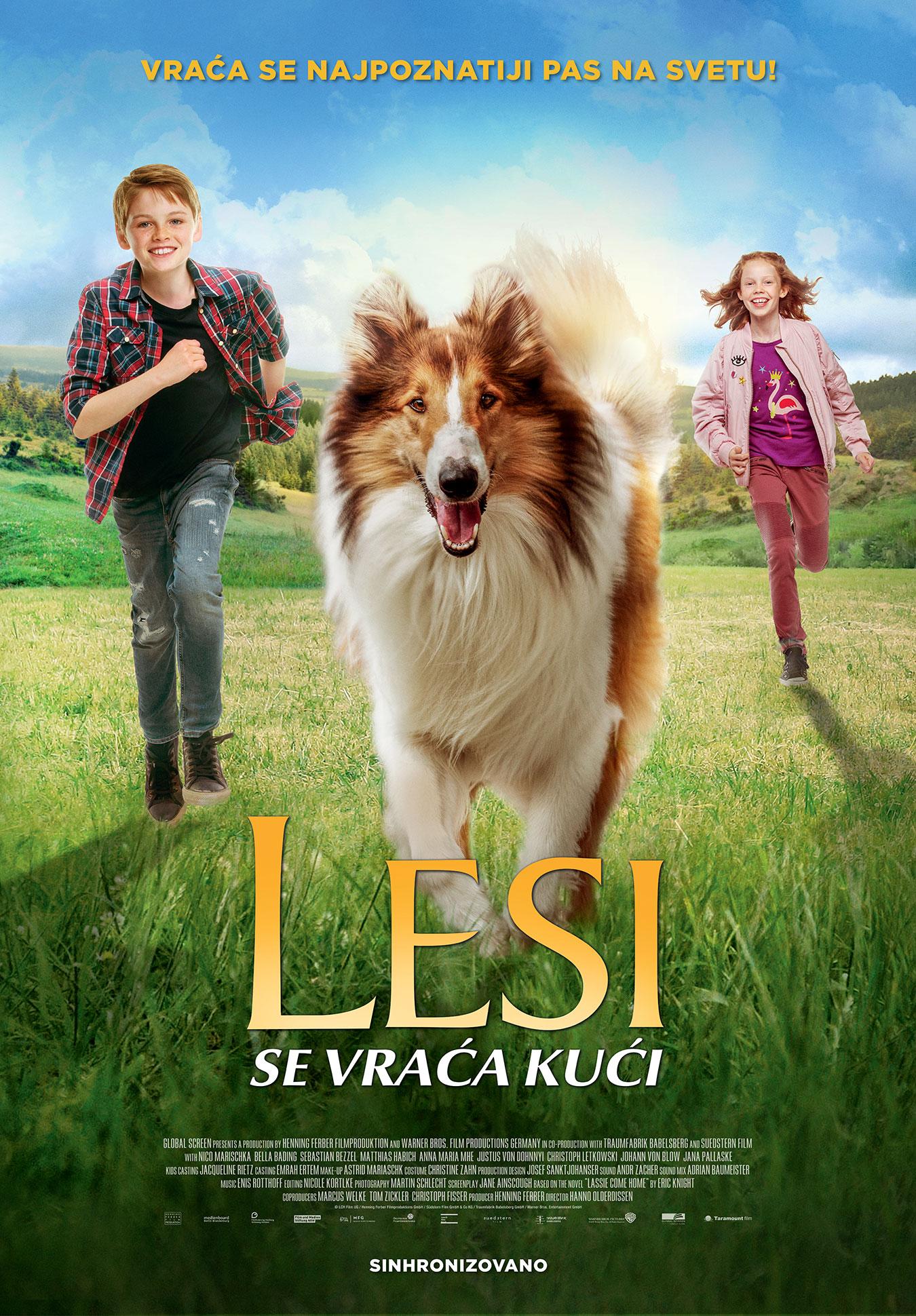 """""""Lesi se vraća kući"""" u bioskopima od 15. oktobra"""