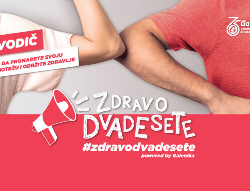 "Kompanija Galenika pokrenula online platformu ""ZDRAVO DVADESETE"""