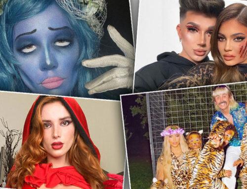 Noć veštica 2020: Poznate face i najbolji kostimi