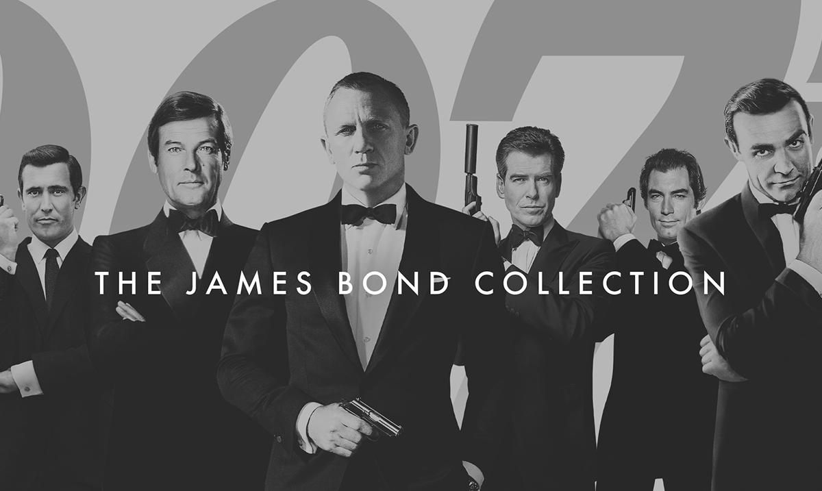Kompletna kolekcija Džejms Bond filmova stiže na HBO GO 1. decembra