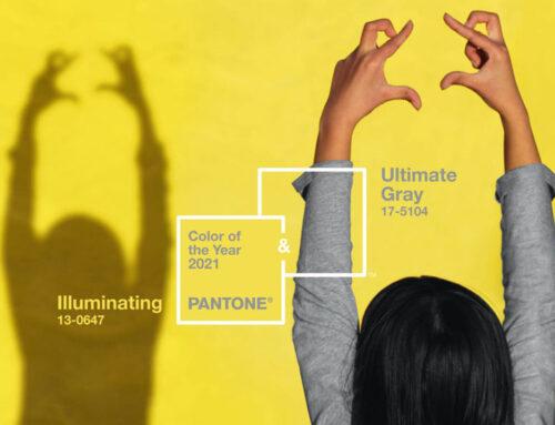 Ultimate Gray i žuta Illuminating su po Institutu Pantone boje 2021. godine