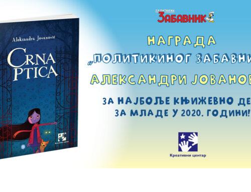 CRNA PTICA – najbolja knjiga za mlade u 2020!